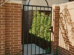Chicago Wrought Iron Fence