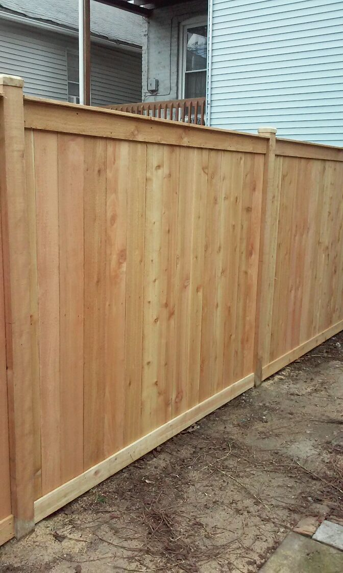 Wood Fence Chicago Residential Amp Commercial Wood Fencing