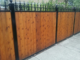 Wood Fence Company Chicago