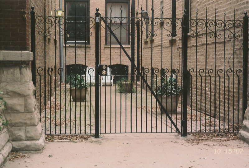 Wrought Iron Fence Amp Railings Chicago Customize Your Own