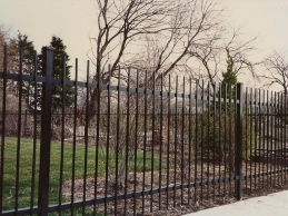 Wrought Iron Fence Installations